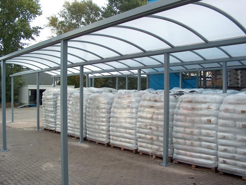 Gekoppelde carports voor stockage b prijs op aanvraag