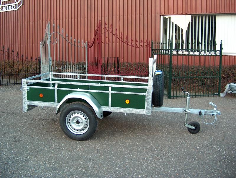 aanhangwagen houten zijwanden prijs vanaf 409,00 euro