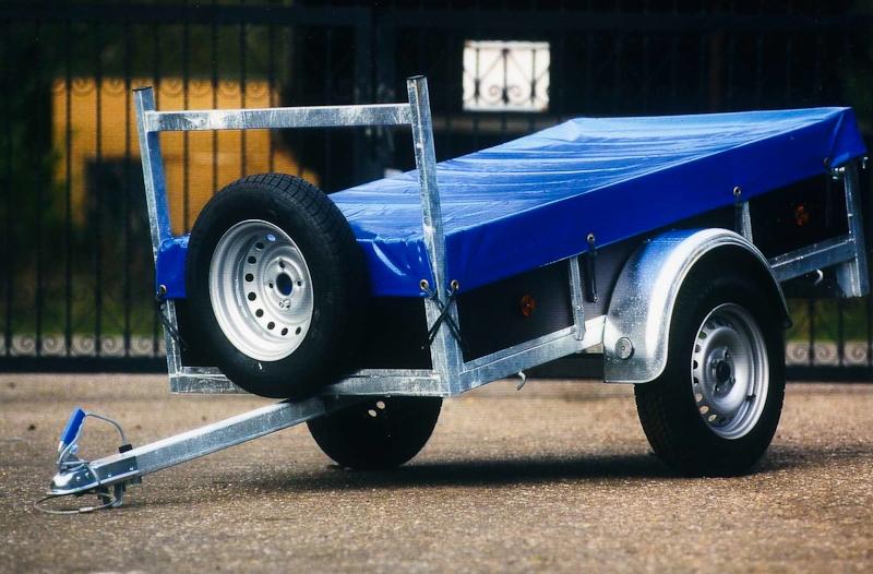 aanhangwagen met afdekzeil prijs vanaf 507,25 euro