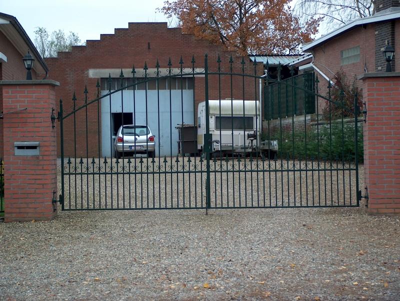Custafer hekwerken poorten carports en aanhangwagens for Amsterdam poort