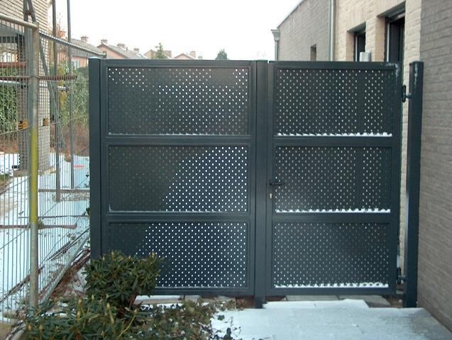 Hekwerken poorten