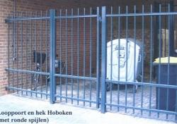 Looppoort Hoboken klassiek