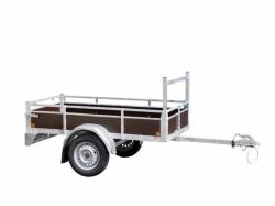 aanhangwagen met aluminium zijwanden prijs vanaf 509,00 euro