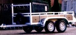 aanhangwagens twee assen 750kg prijs vanaf 867,50 euro