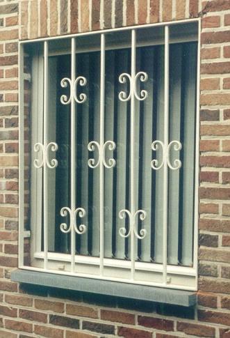 vensterbescherming enkel raam